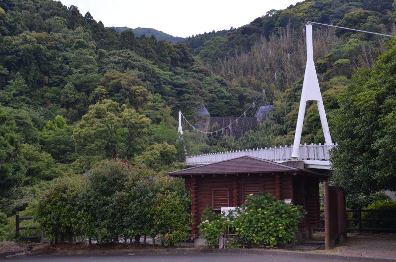 糸島市の加茂ゆらりんこ橋