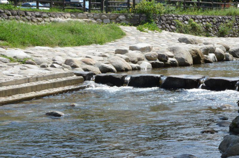 中ノ島公園の川
