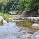 糸島ゆらりんこ橋近くの加茂川で水遊び。人が少ない穴場スポットを満喫
