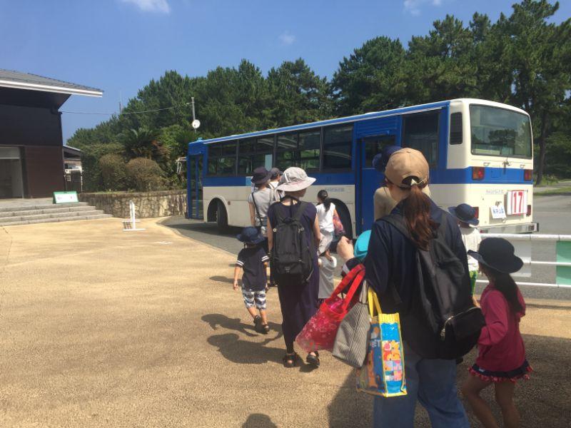 サンシャインプール無料シャトルバス