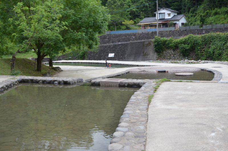 田穴田親水公園の上流