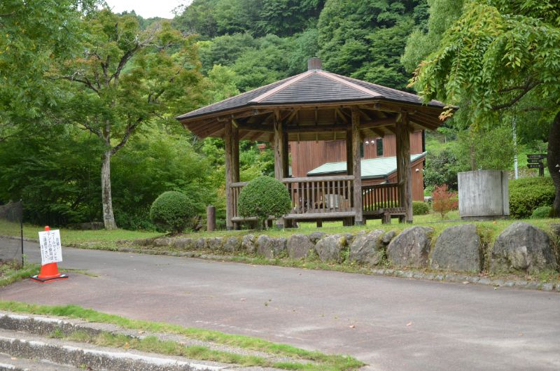 棚田親水公園の小屋