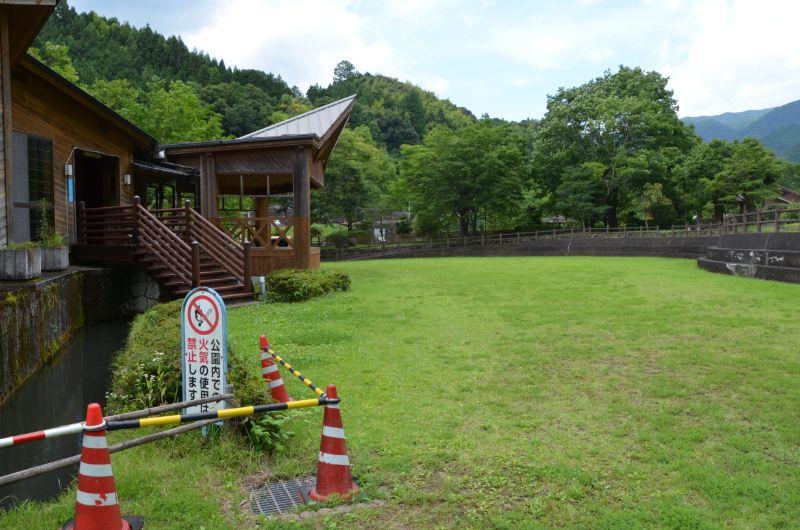 棚田親水公園の芝生広場