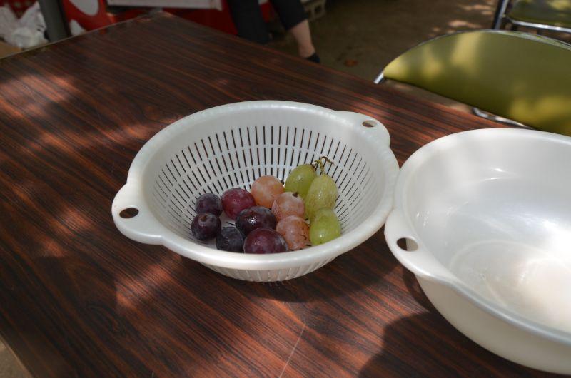 中野果実園の試食