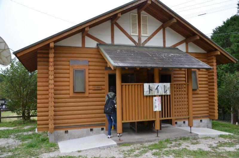 井手野観光栗園のトイレ