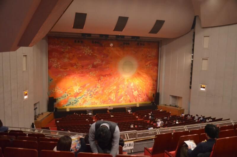福岡サンパレス2階席