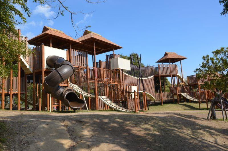 吉野ヶ里公園の大型遊具