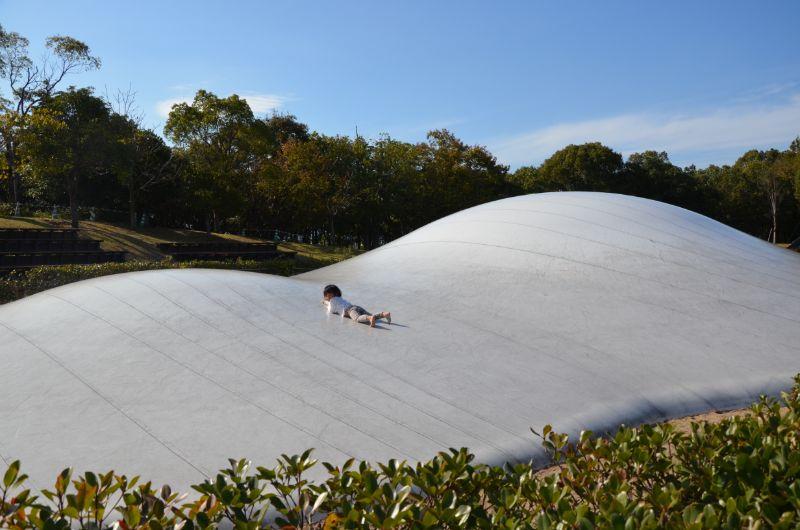 吉野ヶ里歴史公園のふわふわドーム