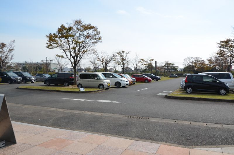 吉野ヶ里歴史公園の駐車場