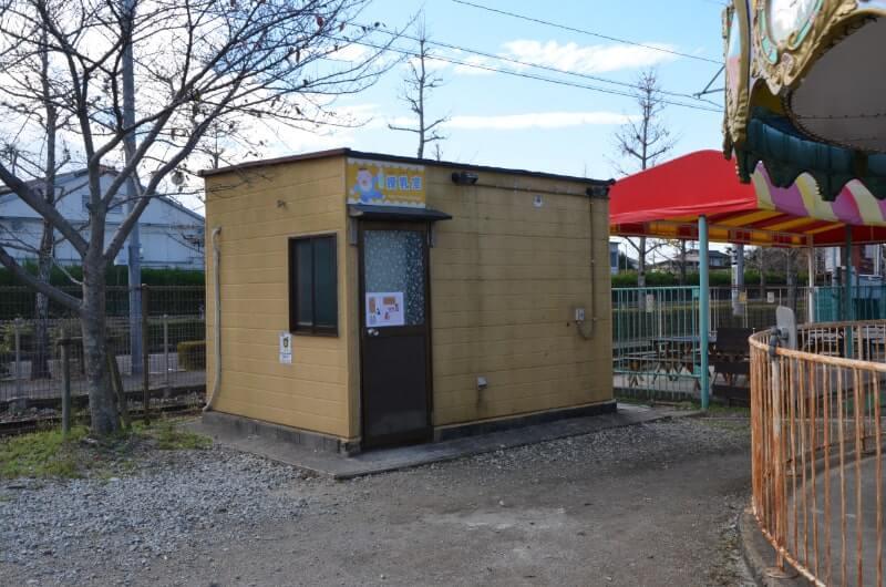 神野公園こども遊園地の授乳室