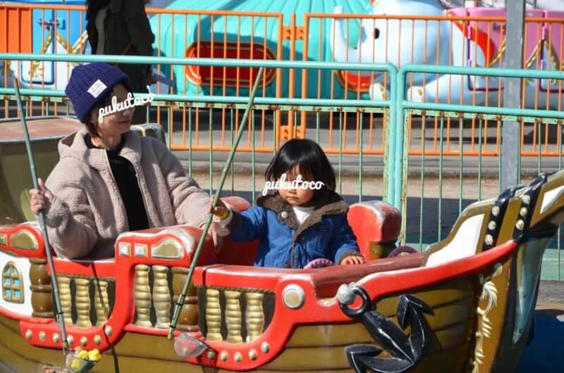 神野公園こども遊園地の船アトラクション